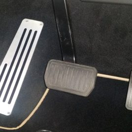 Footrest Dead Pedal for Model X (Coming by September 15th)