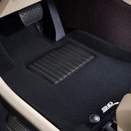 "MAXpider ""Elegant"" Carpeted Floor Liners for Model X, Rows 1, 2 & 3"