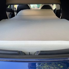 "Use Portable & Comfortable Travel Sleeper in Model X with Tesla's ""Camp Mode"" or as a Home Guest Bed"