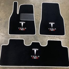 Custom floor mats for Tesla Model Y